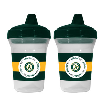 Oakland Athletics 2-Pack Sippy Cup