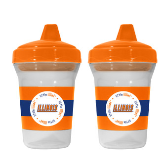 Illinois 2-Pack Sippy Cup