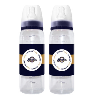 Milwaukee Brewers Baby Bottle 2-Pack