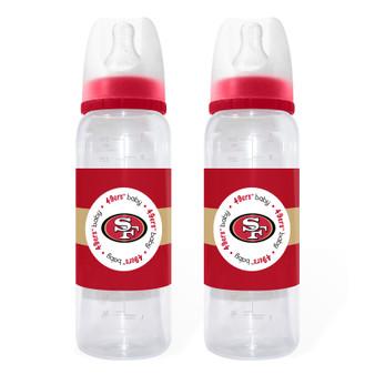 San Francisco 49ers Baby Bottle 2-Pack