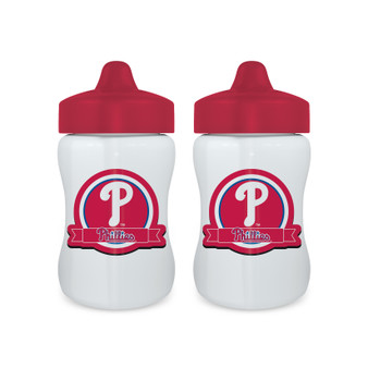 Philadelphia Phillies Sippy Cup 2-Pack