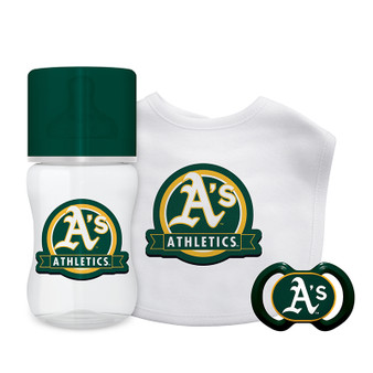 Oakland Athletics 3-Piece Gift Set