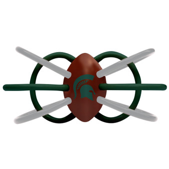 Michigan State Winkel Teether/Rattle