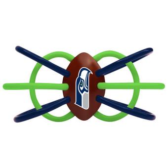 Seattle Seahawks Winkel Teether/Rattle