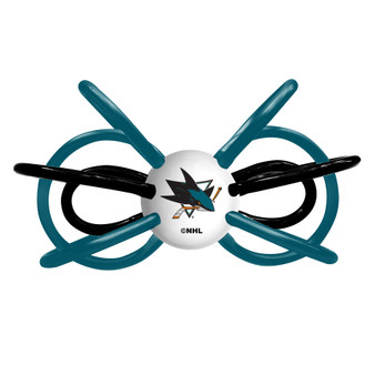 San Jose Sharks Winkel Teether/Rattle