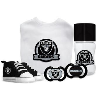 Oakland Raiders 5-Piece Gift Set