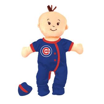 Chicago Cubs Wee Baby Fan Doll