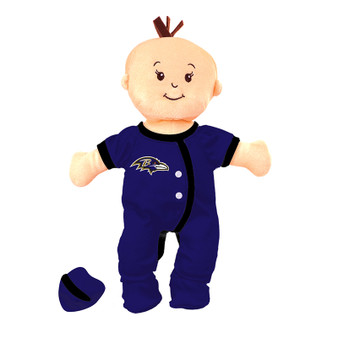 Baltimore Ravens Wee Baby Fan Doll