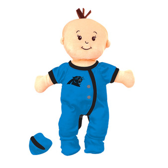 Carolina Panthers Wee Baby Fan Doll