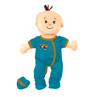 Jacksonville Jaguars Wee Baby Fan Doll
