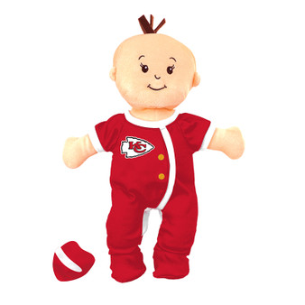 Kansas City Chiefs Wee Baby Fan Doll