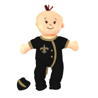 New Orleans Saints Wee Baby Fan Doll