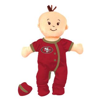 San Francisco 49ers Wee Baby Fan Doll