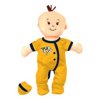 Nashville Predators Wee Baby Fan Doll