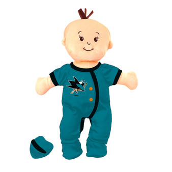 San Jose Sharks Wee Baby Fan Doll