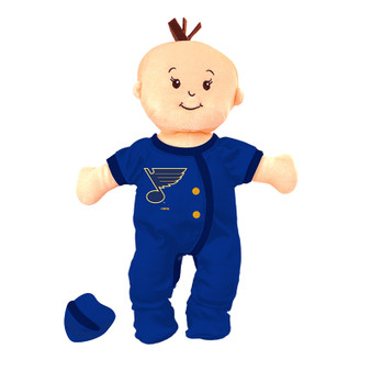 St. Louis Blues Wee Baby Fan Doll