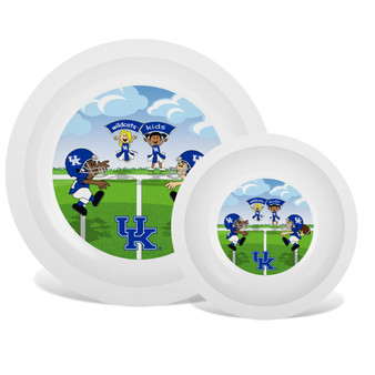 Kentucky White Plate & Bowl Set