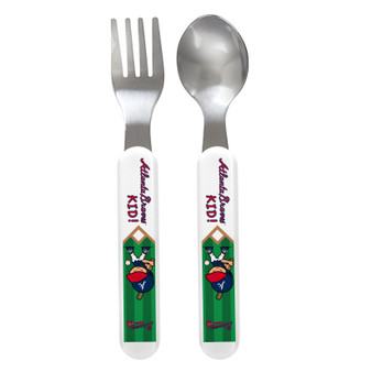 Atlanta Braves Spoon & Fork Set