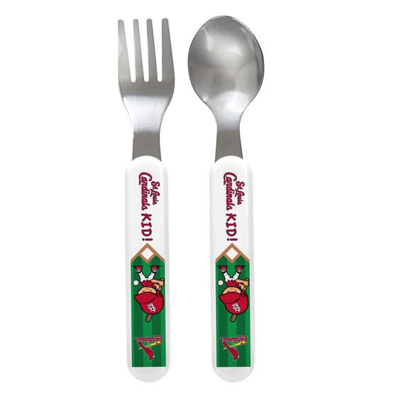 St. Louis Cardinals Spoon & Fork Set