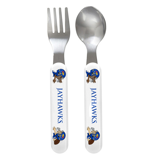 Kansas Spoon & Fork Set