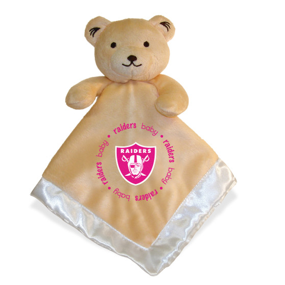 Oakland Raiders Security Bear Pink