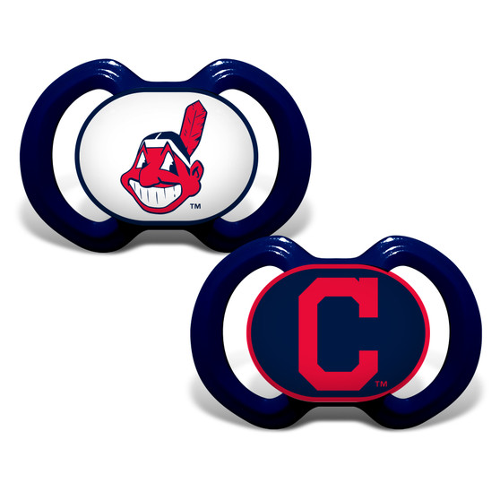 Cleveland Indians 2-Pack Pacifier