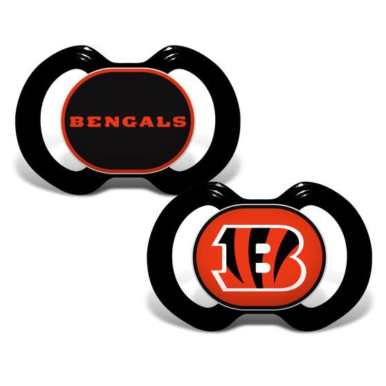 Cincinnati Bengals 2-Pack Pacifier