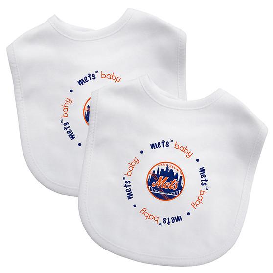 New York Mets 2-Pack Bibs