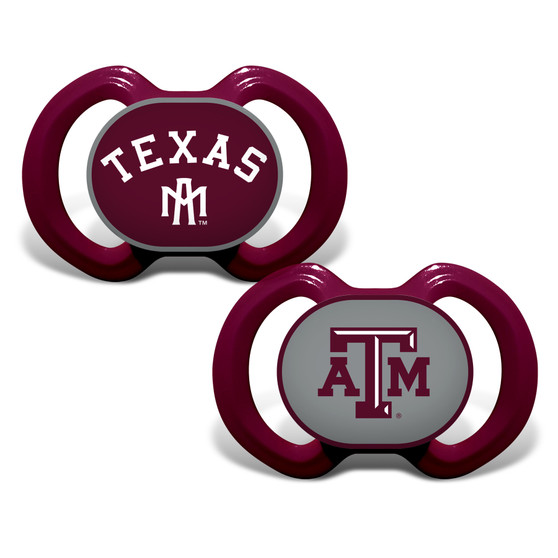 Texas A&M 2-Pack Pacifier