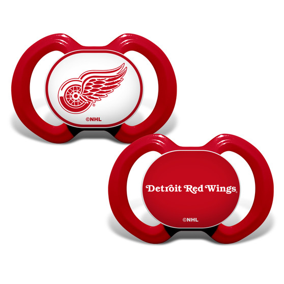Detroit Red Wings 2-Pack Pacifier