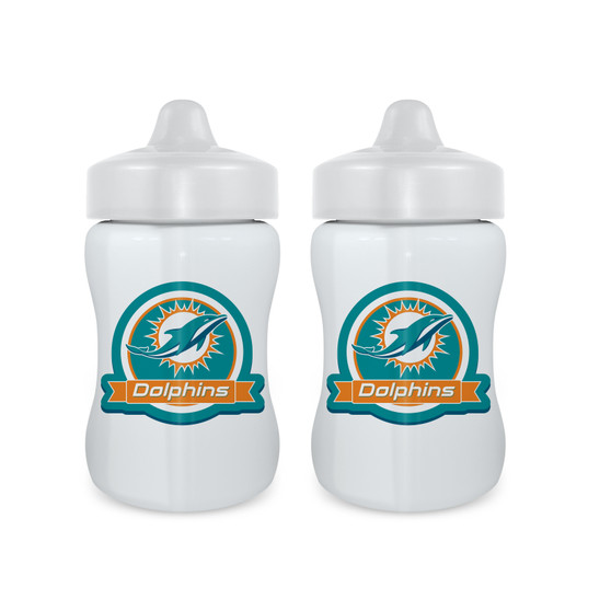 Miami Dolphins Sippy Cup 2-Pack