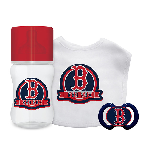Boston Red Sox 3-Piece Gift Set
