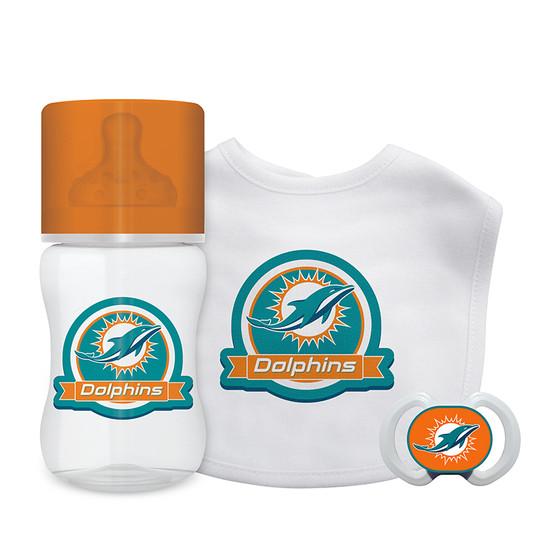 Miami Dolphins 3-Piece Gift Set