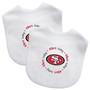 San Francisco 49ers 2-Pack Bibs