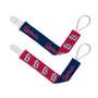 St Louis Cardinals 2-Pack Pacifier Clips