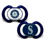 Baby Fanatics Seattle Mariners 2-Pack Pacifiers