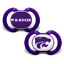 Kansas State 2-Pack Pacifier