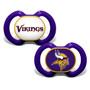 Baby Fanatic NFL Minnesota Vikings 2-Pack Pacifiers