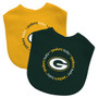 Baby Fanatic NFL Green Bay Packers 2-Pack Bibs