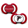 Baby Fanatic NFL Atlanta Falcons 2-Pack Pacifiers