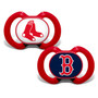 Baby Fanatic MLB Boston Red Sox 2-Pack Pacifier