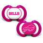 Buffalo Bills 2-Pack Pink Pacifier