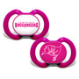 Tampa Bay Buccaneers 2-Pack Pink Pacifier