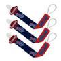 Buffalo Bills Pacifier Clip 3-Pack