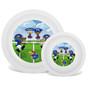 Kansas White Plate & Bowl Set