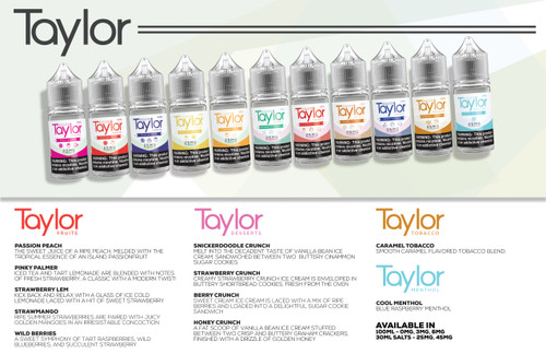 Taylor Vapor Tea 100ml