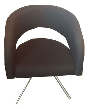 Boss Black Bucket Chair (4EF-71F-747)