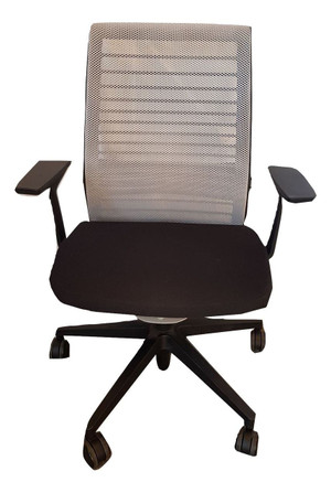Steelcase Black & White Operator Chair (238-F00-F82)