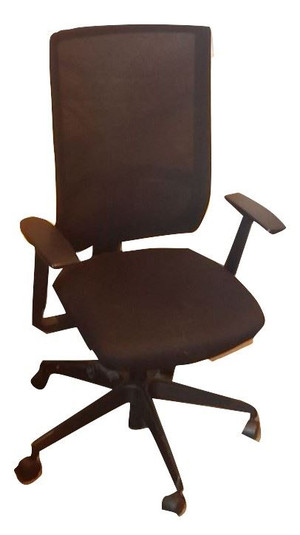 Komac Black Office Chair (74A-AD8-676)