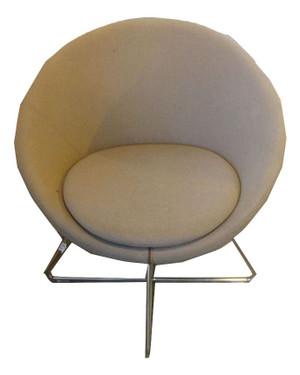 Allermuir A630 Grey Tub Chair (3E8-927-BDF)